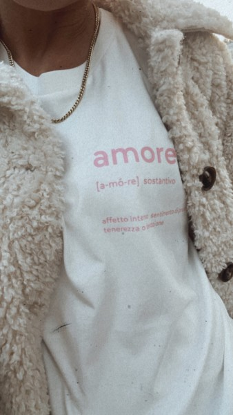 T-SHIRT DEFINITION AMORE